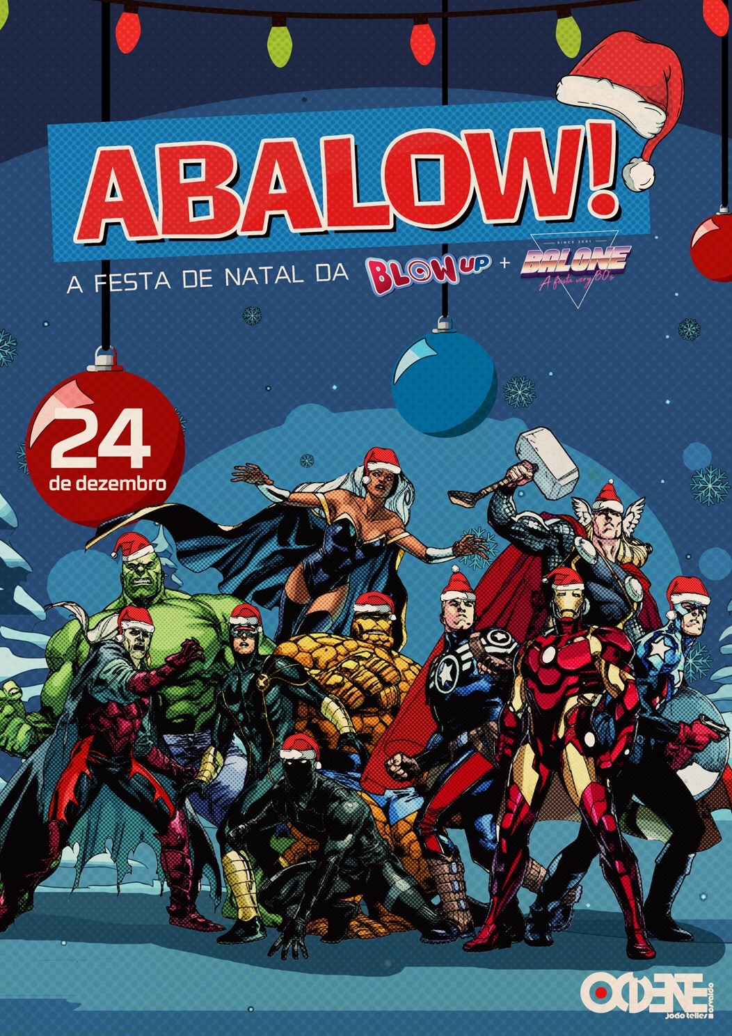 ABALOW! A Festa de natal da BLOW-UP + BALONÊ